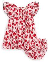 Kate Spade Infant Girl's Cherry Print Flutter Sleeve Dress