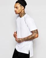 Adidas Originals Longline T-shirt With Bonded 3m Aj7292