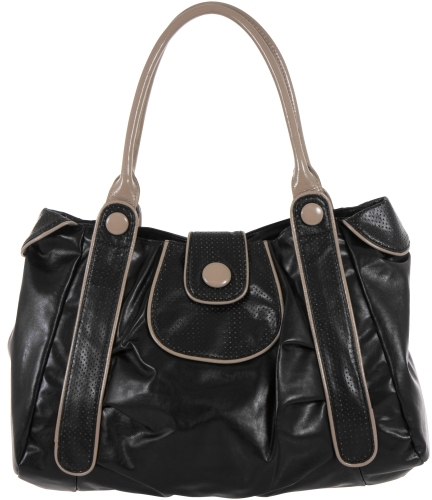 Charlotte Russe Two-Tone Tote