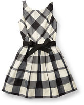Ralph Lauren Plaid Taffeta Sleeveless Dress