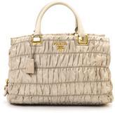 Prada Pre-Owned Gaufre Tessuto Handbag