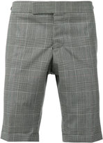 Thom Browne checked shorts - men - Cupro/Wool - 1