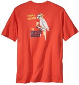 Tommy Bahama Mens The Brewed Abides Crew Neck Graphic Tee Orange XL