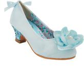 China Doll Light Blue Daisi Dress Shoe