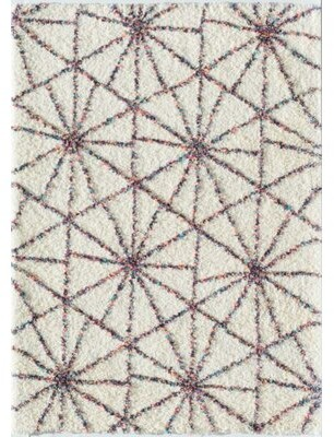 Little Seeds Starstruck Geometric White Area Rug Rug Size: Rectangle 5' x 7'