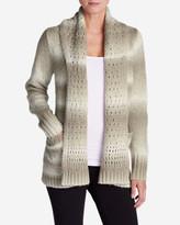 Eddie Bauer Women's White Out Cardigan Sweater