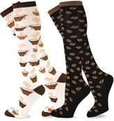 Teeheesocks TeeHee Women Food Theme Knee High Socks for Women - Veggie & Sushi