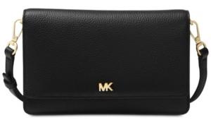 Michael Kors Michael Pebble Leather Phone Crossbody Wallet