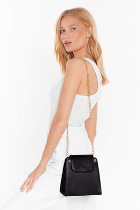 WANT Out at Night Faux Leather Shoulder Bag