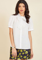 Profesh Intention Button-Up Top in XS