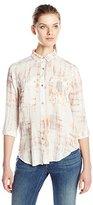 Calvin Klein Jeans Women's Printed Utility Shirt