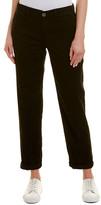 J Brand Inez Black Chino Trouser