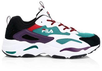 Fila Ray Tracer Mixed Media Sneakers