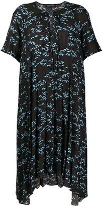 Markus Lupfer All-Over Print Dress