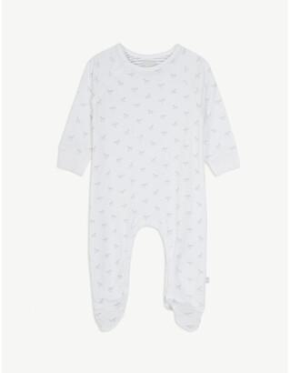 The Little Tailor Rocking horse cotton sleepsuit 0-18 months