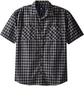 Rocawear Men's Big-Tall Oswald Short Sleeve Woven Shirt