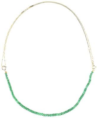 ALIITA Princesa Kit 9kt gold tsavorite and pearl necklace
