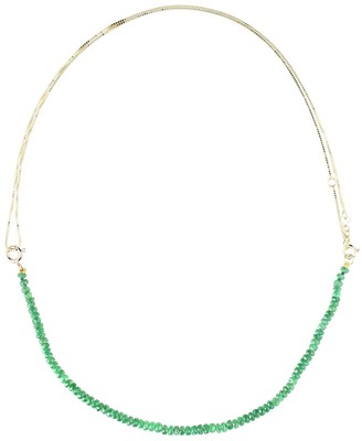 ALIITA Princesa Kit 9kt gold tsavorite and pearl necklace