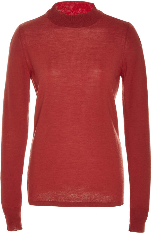 5901425850b Womens Red And Black Stripe Top - ShopStyle UK