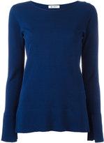 Dondup slit sleeves jumper - women - Cotton - XS