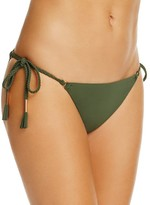 Robin Piccone Ava Braided Side Tie Bikini Bottom