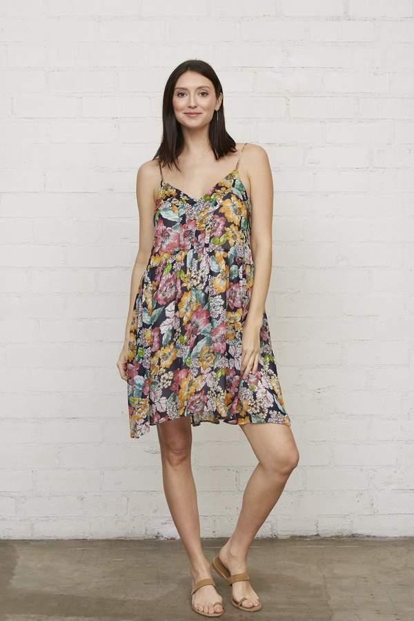Chiffon Lola Dress - Bouquet-
