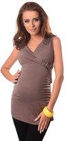 Purpless Maternity New Maternity V Neck Top 510