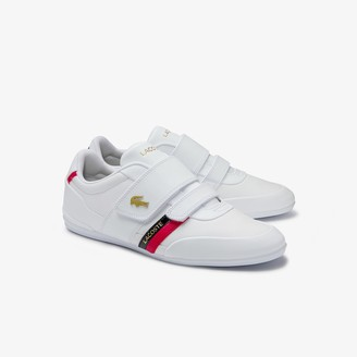 Lacoste Men's Misano Strap Leather and Synthetic Trainers
