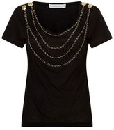 Pierre Balmain Chain Detail T-Shirt
