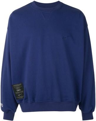 SONGZIO Bohemian embroidered motif sweatshirt