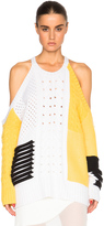 Prabal Gurung Open Shoulder Cashmere Sweater