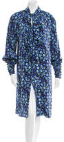 Peter Som Patterned Casual Dress