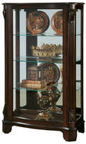 Canora Grey Akerman Mantel Lighted Curio Cabinet