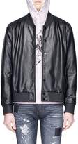 LOUSY x Lane Crawford Lambskin leather bomber jacket