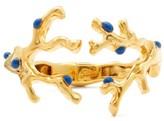 Chloé Connie Coral Cuff - Womens - Blue Gold