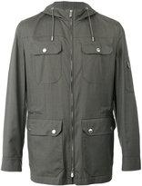 Brunello Cucinelli fitted jacket - men - Silk/Cotton/Wool - 50