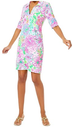 Lilly Pulitzer UPF 50+ Quincey Dress (Multi Paradise Found) Women's Dress