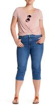 NYDJ Ariel Embellished Capri Jean (Plus Size)