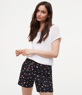 LOFT Floral Riviera Shorts with 6 Inch Inseam