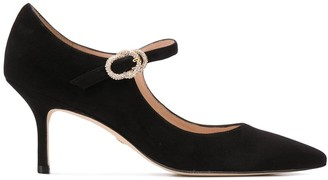 Stuart Weitzman pointed mary-jane heels