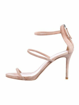 Giuseppe Zanotti Suede Sandals Pink