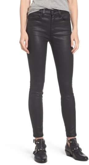 Current/Elliott Women's The High Waist Ankle Skinny Jeans