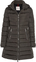 Moncler Orophin Quilted Shell Down Coat - Army green
