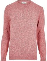 River Island Orange Crew Neck Jumper