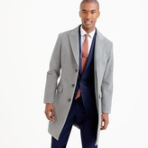 J.Crew Ludlow peak-lapel topcoat in Italian wool-cashmere with Thinsulate®