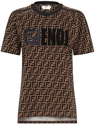 Fendi FF Short-Sleeve Cotton Tee