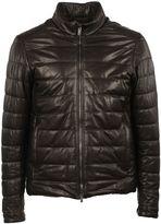 Tod's Black Double Zip Padded Jacket
