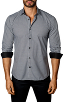 Jared Lang Cotton Checkered Sportshirt