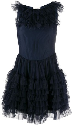 Molly Goddard Felicity ruffled dress