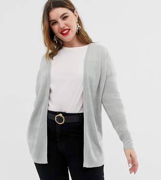 Vero Moda Curve gray lightweight cardigan